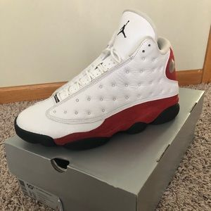 "Retro 13 ""Cherry Red"" sz 10.5 $200"